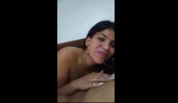 Bachata De Anthony Santos Y El Tipo Grabando Su Puta Chupando