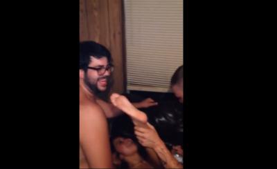 Borrachos Anal, Tienen Sexo Fuerte En Un Hotel