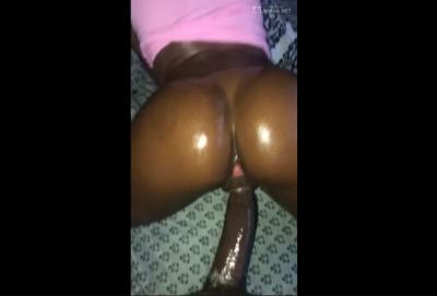 Negra Aceitosa Culea Su Negro Con Sexo Duro
