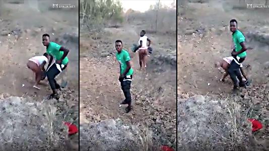 Militar Sorprende Haitianos Follando En La Frontera En Cuarentenas