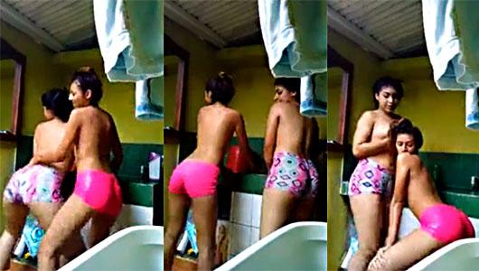 Novias Colombianas De 18 Años Hacen Vídeo Para OnlyFans